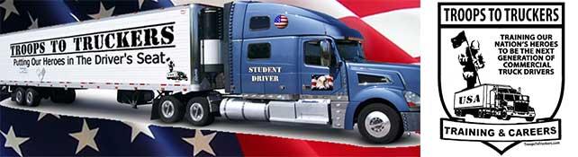 Troops to Truckers Veteran CDL Program