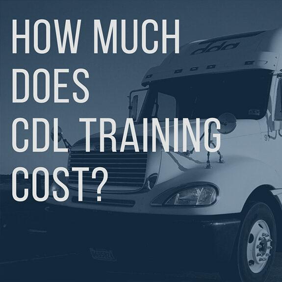 cdl training cost